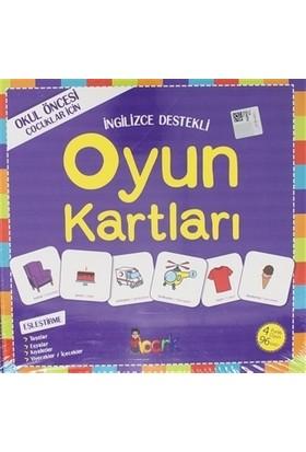 İngilizce Destekli Oyun Kartları