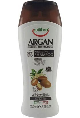 Equilibra Argan Yağlı ve Siyah Çay Yaprağı Özlü Koruyucu Şampuan