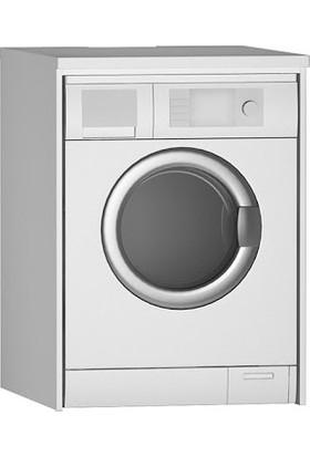 Ankara Orman Ürünleri Kapaksız Çamaşır Makinesi Alt Dolabı Beyaz 67,5 x 91 x 60 cm