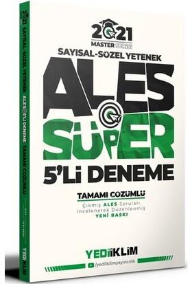 Yediiklim Yayınları Master Serisi Ales Sayısal-Sözel Yetenek Tamamı Çözümlü Süper 5'li Deneme