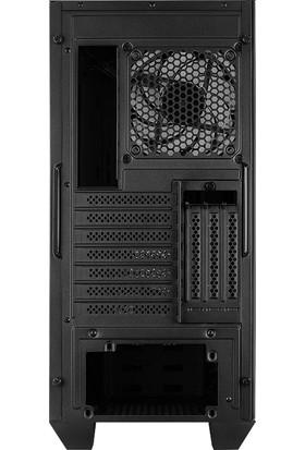 Aerocool Visor 650W 2x14cm ARGB Adreslenebilir RGB Fanlı Tempered Glass Yan Panelli USB 3.0 Bilgisayar Kasası (AE-VSR-650)