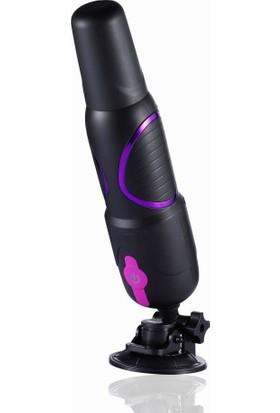 Hismith Telefon Uyumlu ve Kumandalı Vantuzlu Güçlü Seks Makinesi