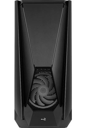 Aerocool Visor 2x14cm ARGB Adreslenebilir RGB Fanlı Tempered Glass Yan Panelli USB 3.0 Bilgisayar Kasası (AE-VSR)