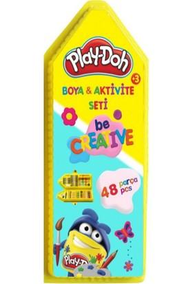 Play-Doh Boya ve Aktivite Seti 48 Parça Kırtasiye Seti