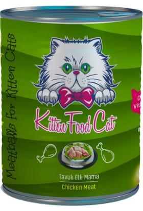 Kitten Food Burger Tavuklu Konserve Yavru Kedi Maması 415 gr