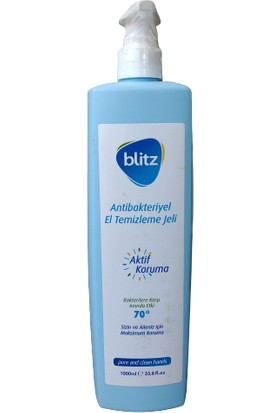 Blitz Antibakteriyel El Temizleme Jeli 1 lt