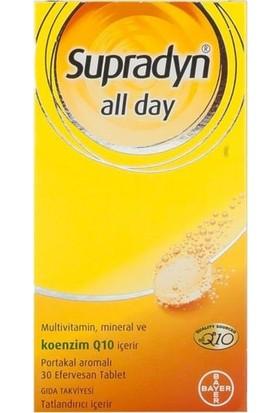 Supradyn All Day Efervesan 30 Tablet - Portakal 8699546027903