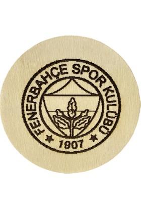 Mcg Ahsap Fenerbahçe Bardak Altlığı