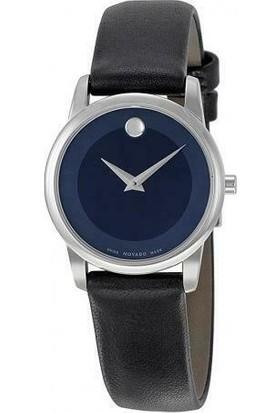 Movado 0606611 Museum Dark Blue 28MM Kadın Kol Saati