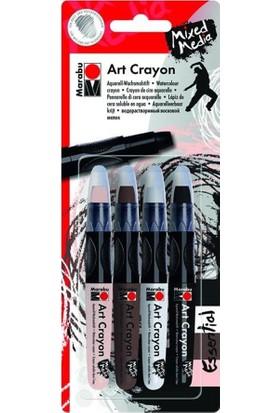 Marabu Art Crayon 4'lü Set