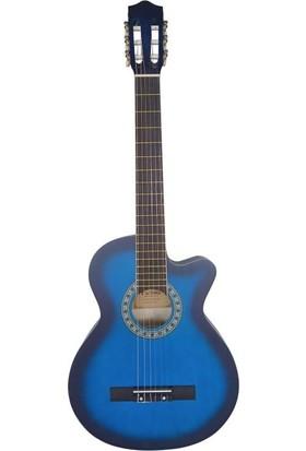 Carissa CG-150C Bls Mavi Siyah Klasik Gitar - Mavi - Siyah