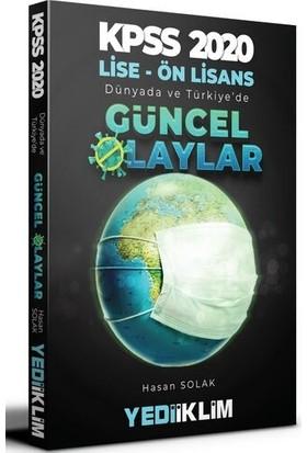 Yediiklim Yayınları 2020 Kpss Lise-Önlisans Dünyada Ve Türkiye'De Güncel Olaylar