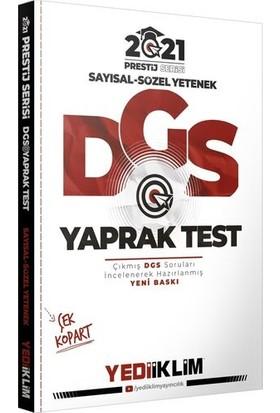 Yediiklim Yayınları 2021 Prestij Serisi Dgs Çek Kopart Yaprak Test