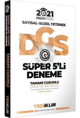Yediiklim Yayınları 2021 Prestij Serisi Dgs Tamamı Çözümlü Süper 5 Deneme