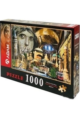 Adam Games Türkiye'nin Tarihi Mirası 1000 Parça Puzzle 48 x 68 cm