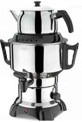 Aldente Süper Sade 6 Litre Semaver, Çay Makinesi
