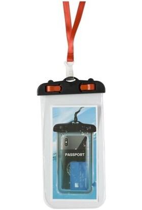 Penguen Su Geçirmez Telefon Kılıfı Waterproff Su Altı Kilit Korumalı