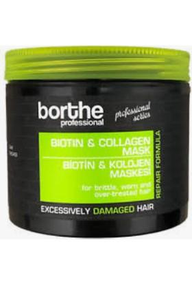 Borthe Profesyonel Saç Bakım Seti Botox Şampuan + Bıotın Collagen Maske
