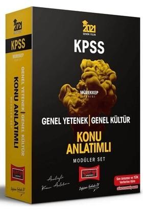Yargı Yayınları 2021 Kpss Genel Yetenek Genel Kültür Konu Anlatımlı Modüler Set Mürekkep Serisi