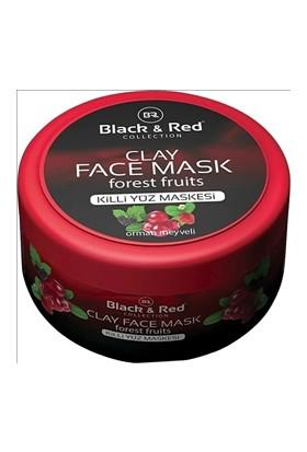 Black & Red Collection Orman Meyveliyüz Maskesi