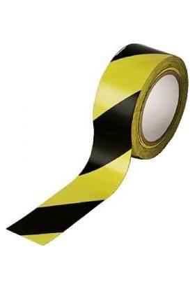 Mfk Plastik MFK8120 Sarı Siyah Küçük Boy İkaz Şeridi