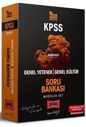 Yargı Yayınevi KPSS Genel Yetenek Genel Kültür Çözümlü ve Cevaplı Modüler Soru Bankası Seti