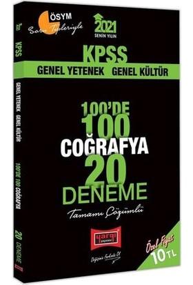 Yargı Yayınevi KPSS 2021 Coğrafya 100'de 100 Tamamı Çözümlü 20 Deneme