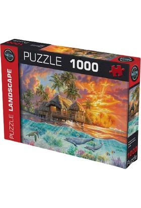 Neon 1000 Parça Puzzle 20593 Cennette Hafta Sonu