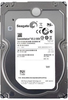 "Seagate Constellation 3.5"" 4TB 7200RPM Hard Disk ST4000NM0053"