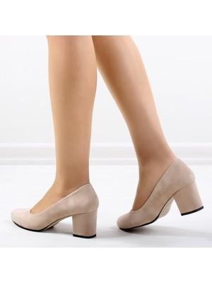 Pabucmarketi Comfort Ten Kuzu Kadın Ayakkabısı