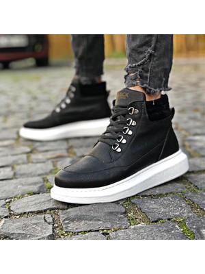 Knack Yüksek Taban Ayakkabı 504 Siyah