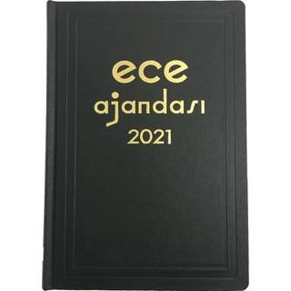 Ece Ajandası - 2021 Ticari Koleksiyonu - Anadolu 17 x 25 cm Siyah