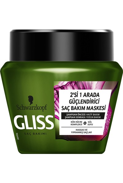 Gliss Bio-Tech Saç Bakım Maskesi 300 ml