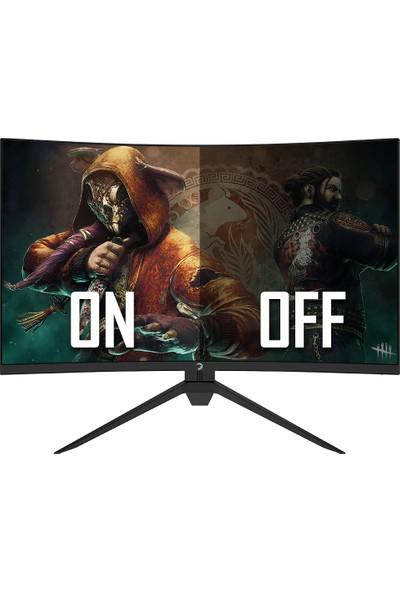 "Gamepower Intense X40 27"" 240HZ 1ms (HDMI+Display) FreeSync Full HD Curved LED Monitör"