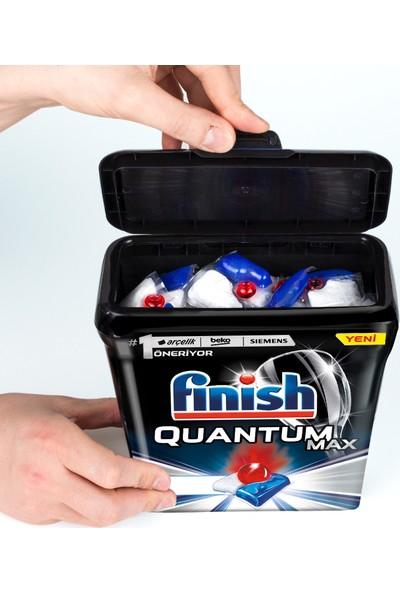 Finish Quantum Max 85 Kapsül+Özel Saklama Kutusunda Quantum Max 80 Kapsül Bulaşık Makinesi Deterjanı