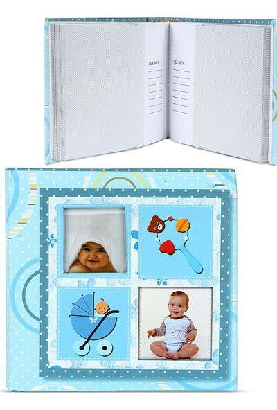 Birlik Fotoğrafçılık Mavi Bebek Albümü 4x6 (10X15) 100'LÜK 571203