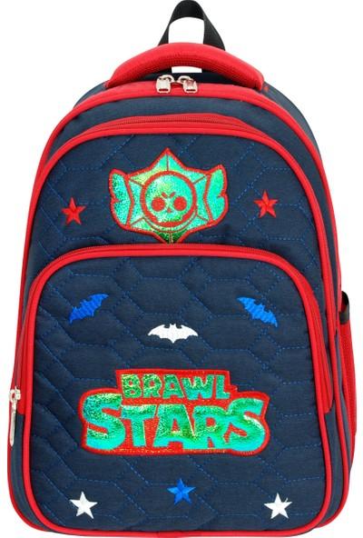 Master Pack Roxy Brawl Stars Ilkokul Beslenmeli Su Geçirmez Okul Çantası 554