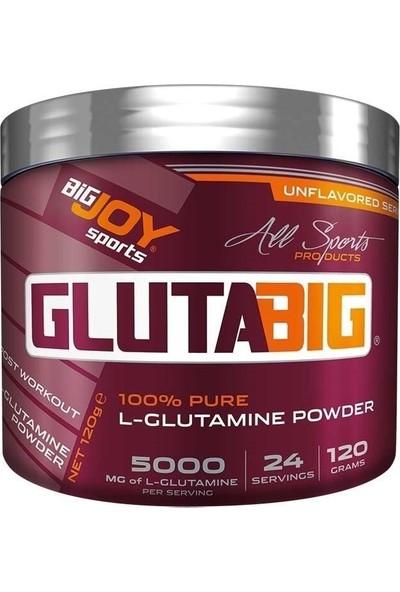 Big Joy Gluta Big % 100 Glutamine Powder 120 gr