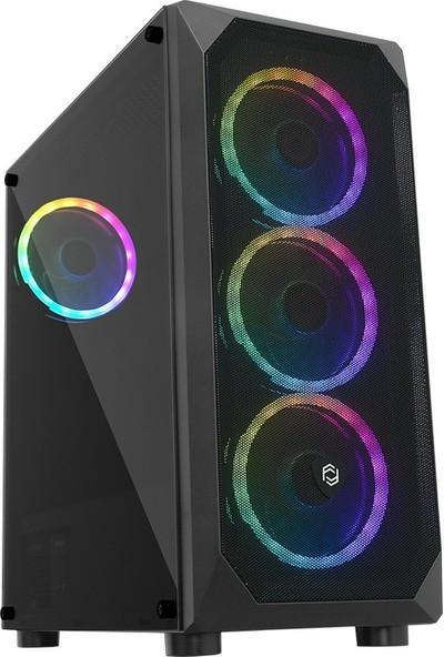 """Go Gamer G75D AMD Ryzen 7 3700X 16GB 1TB + 500GB SSD GTX1650 Freedos 23.5"""" Masaüstü Bilgisayar"""