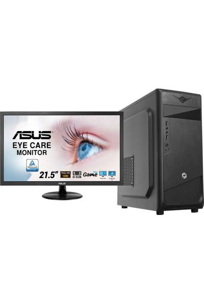 "Go Gamer G28D Intel Core i7 9700 16GB 480GB SSD Freedos 21.5"" Masaüstü Bilgisayar"