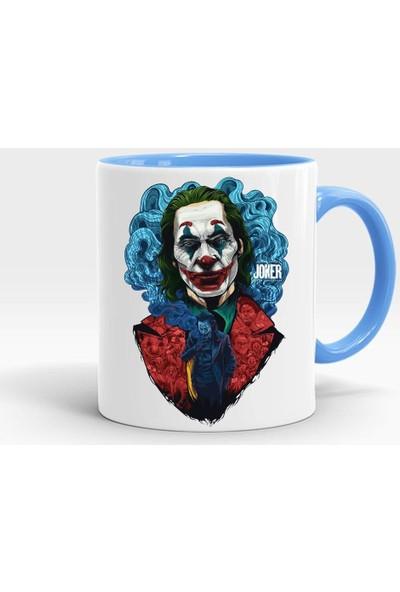 Katarsis Joker Baskılı İçi ve Kulpu Mavi Kupa 8