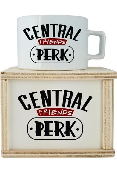 Katarsis Central Perk Baskılı Özel Tasarım Kutulu Kupa 1