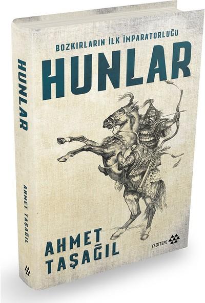 Hunlar (Bez Ciltli - İmzalı) - Ahmet Taşağıl