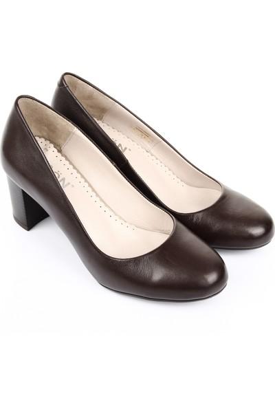Gön Deri Kadın Ayakkabı 23273