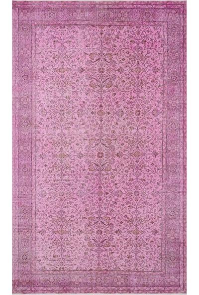 Grand Hedef Halı Pembe Renk Vintage El Dokuma Halı 183 x 305 cm
