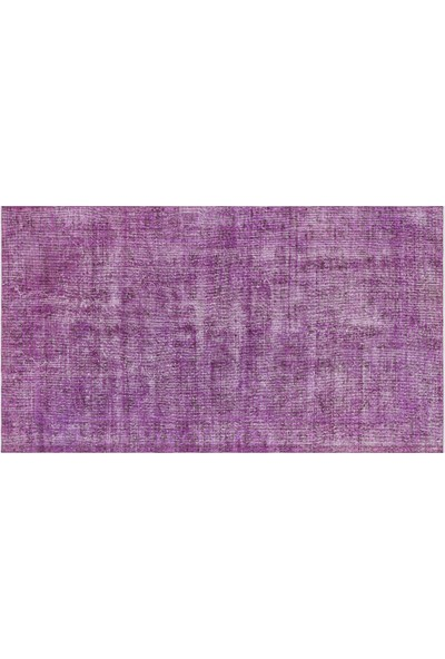 Grand Hedef Halı Mor Renk Vintage El Dokuma Halısı 136 x 241 cm
