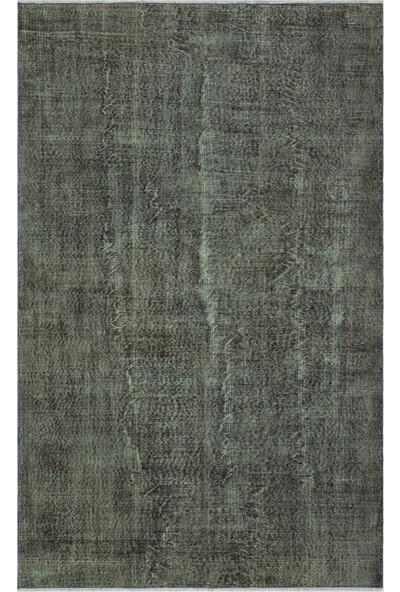 Grand Hedef Halı Gri Renk Vintage El Dokuma Halısı 175 x 278 cm