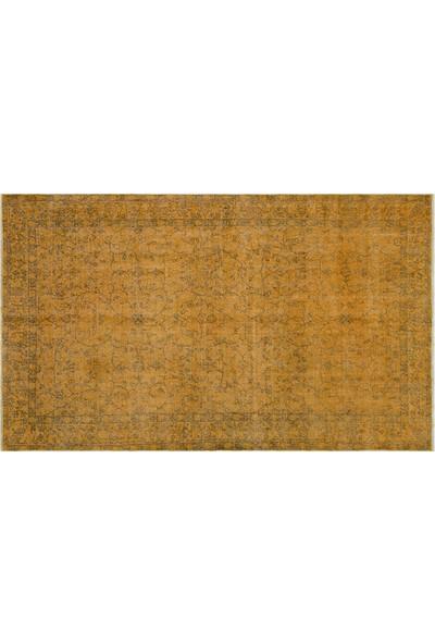 Grand Hedef Halı Kiremit Renk Vintage El Dokuma Halısı 157 x 267 cm