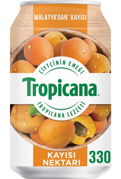 Tropicana Malatya Kayısı Nektarı Kutu 330 ml 12'li Set