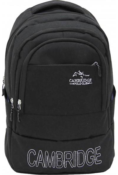 Cambridge Polo Club Sırt Çantası PLCAN2052 Siyah